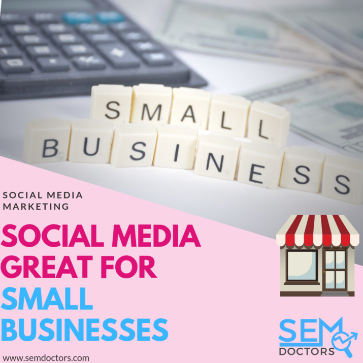 Why Social Media Great for Small Business
